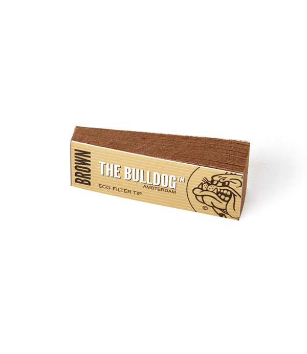 The Bulldog Filter Tip Brown