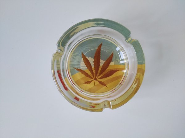 Glass Ashtray various colors