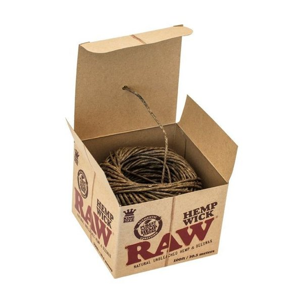 RAW Hemp Wick Ball 100FT/30,5 m